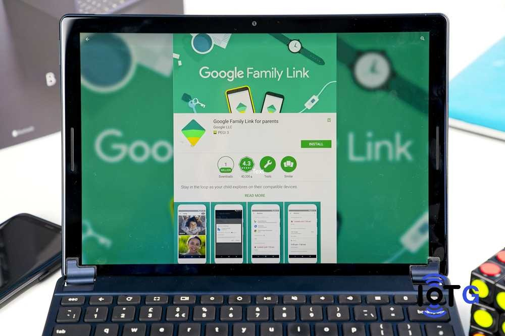 Chromebook parental control feature