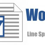 How to adjust the line spacing in Word