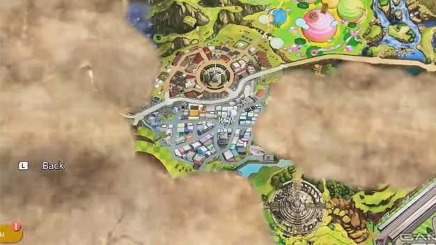super smash bros. ultimate map
