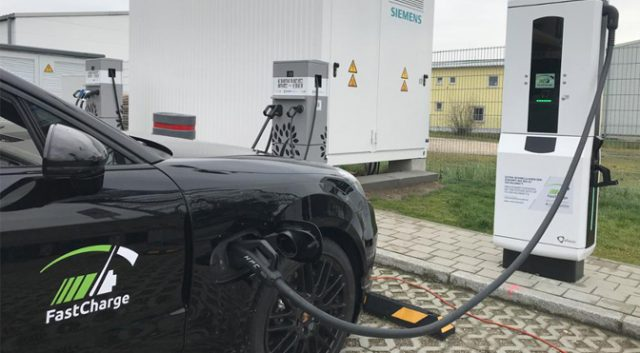 ultra-fast chargers for electric cars