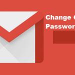 Changing Gmail password