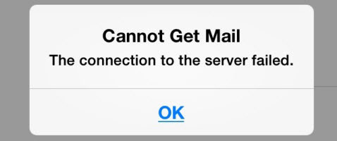 Unable to receive mail