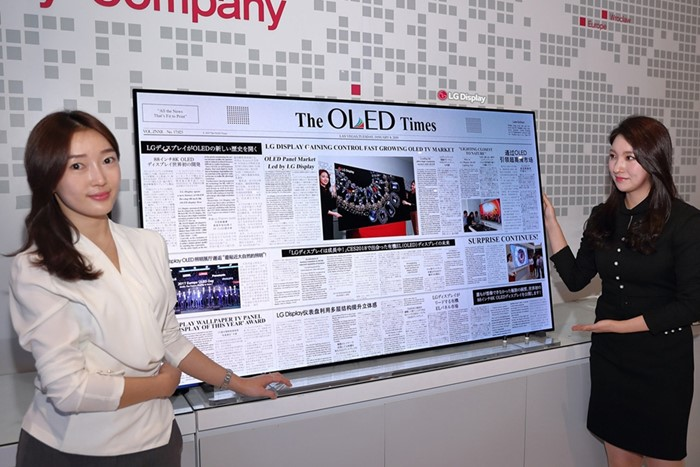 he new 65-inch 4K resolution TV with Crystal Sound technology