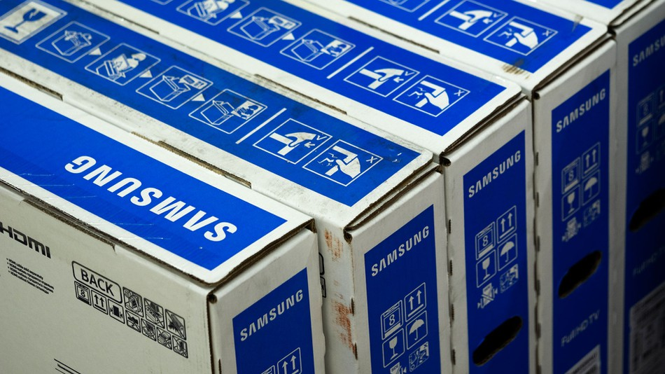Samsung will not use plastic to pack its products