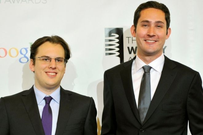 Kevin Systrom Mike Krieger instagram