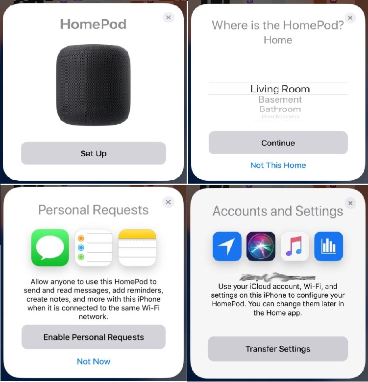Configure your HomePod automatically