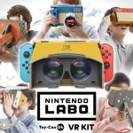 Nintendo Switch will have its first VR glasses with Nintendo Labo in April
