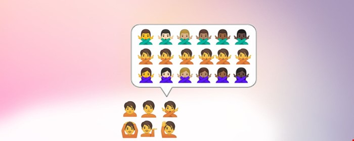 male and female genres of emojis