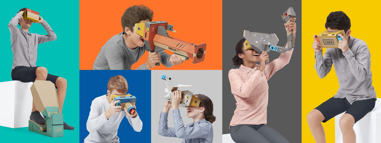 The Nintendo Labo: VR Kit