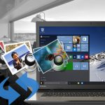 transfer photos and videos from iPhone or Android to Microsoft Windows 10