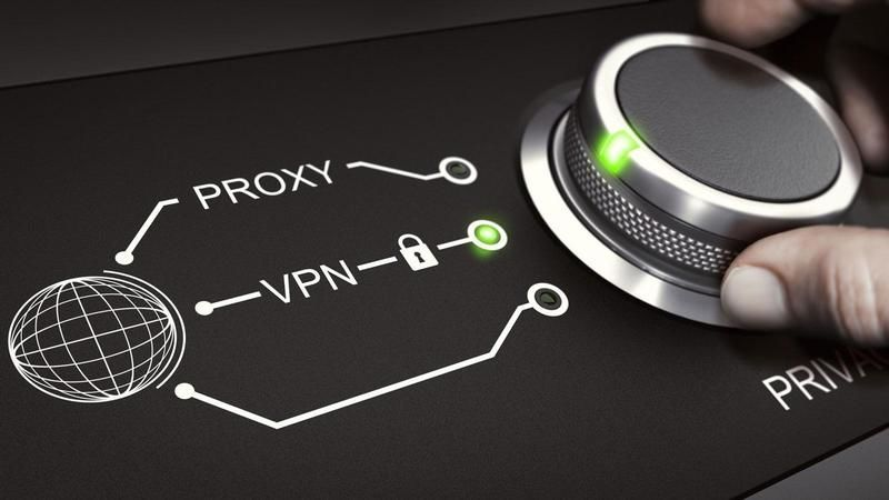 Use a proxy server to hide your IP