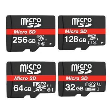 Format the micro SD memory card