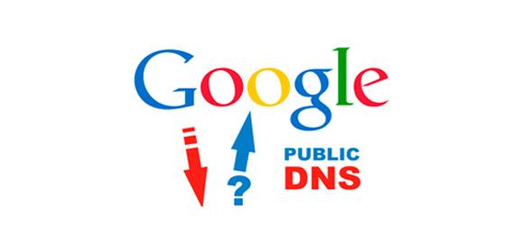 Test Google's public DNS