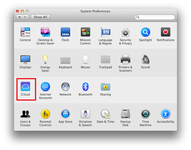 How to activate iCloud on Mac
