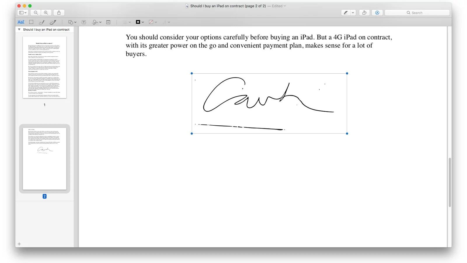 How to erase digital signatures
