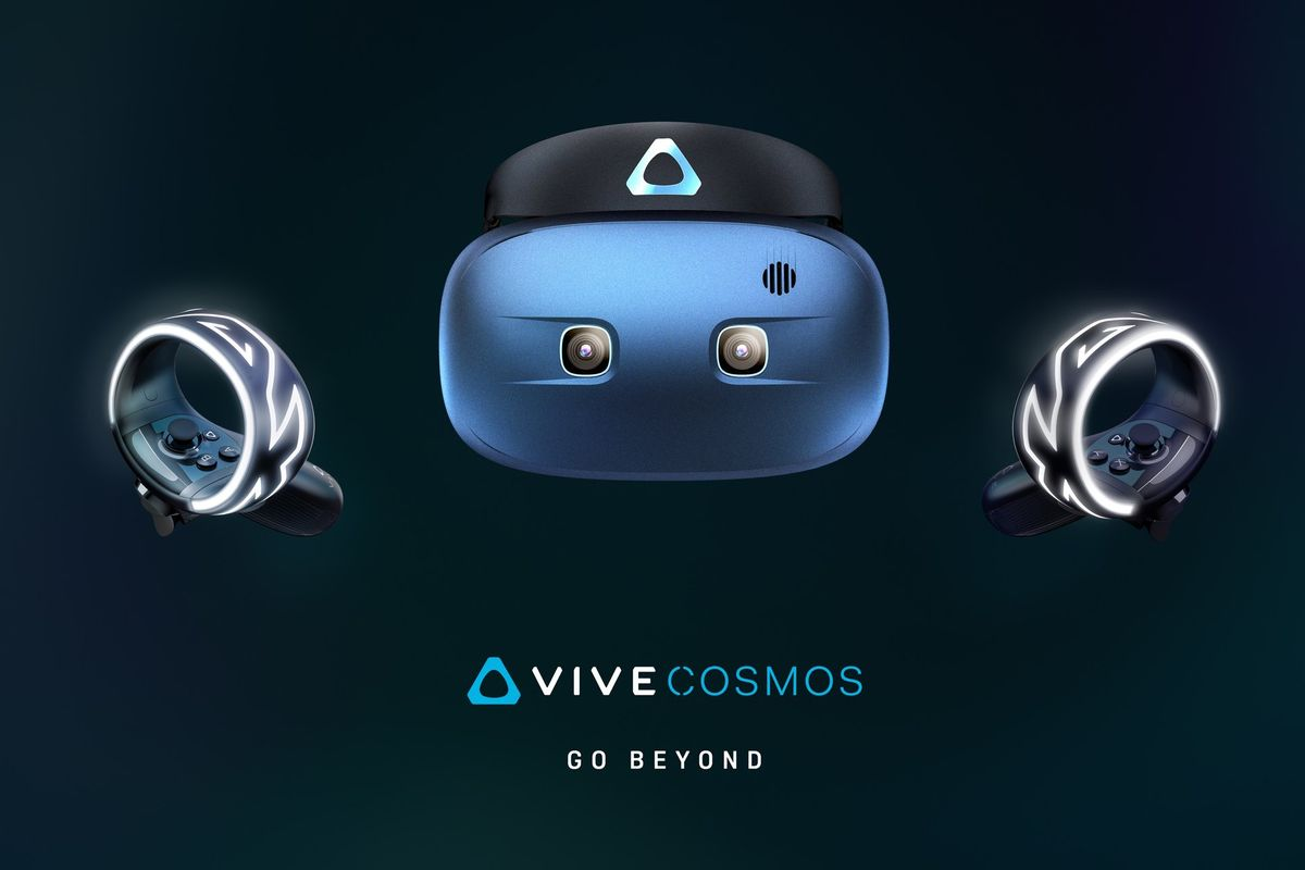 HTC details Vive Cosmos, its new virtual reality headset