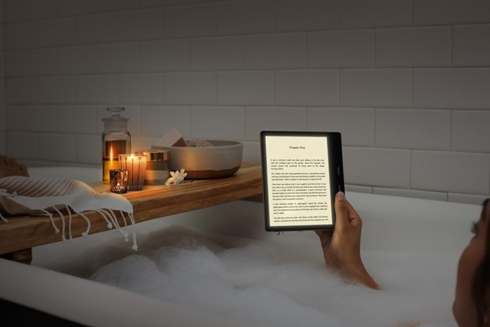 Kindle Oasis with light temperature adjustment