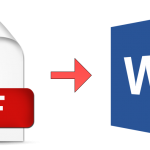 How to convert a PDF to Word format for free