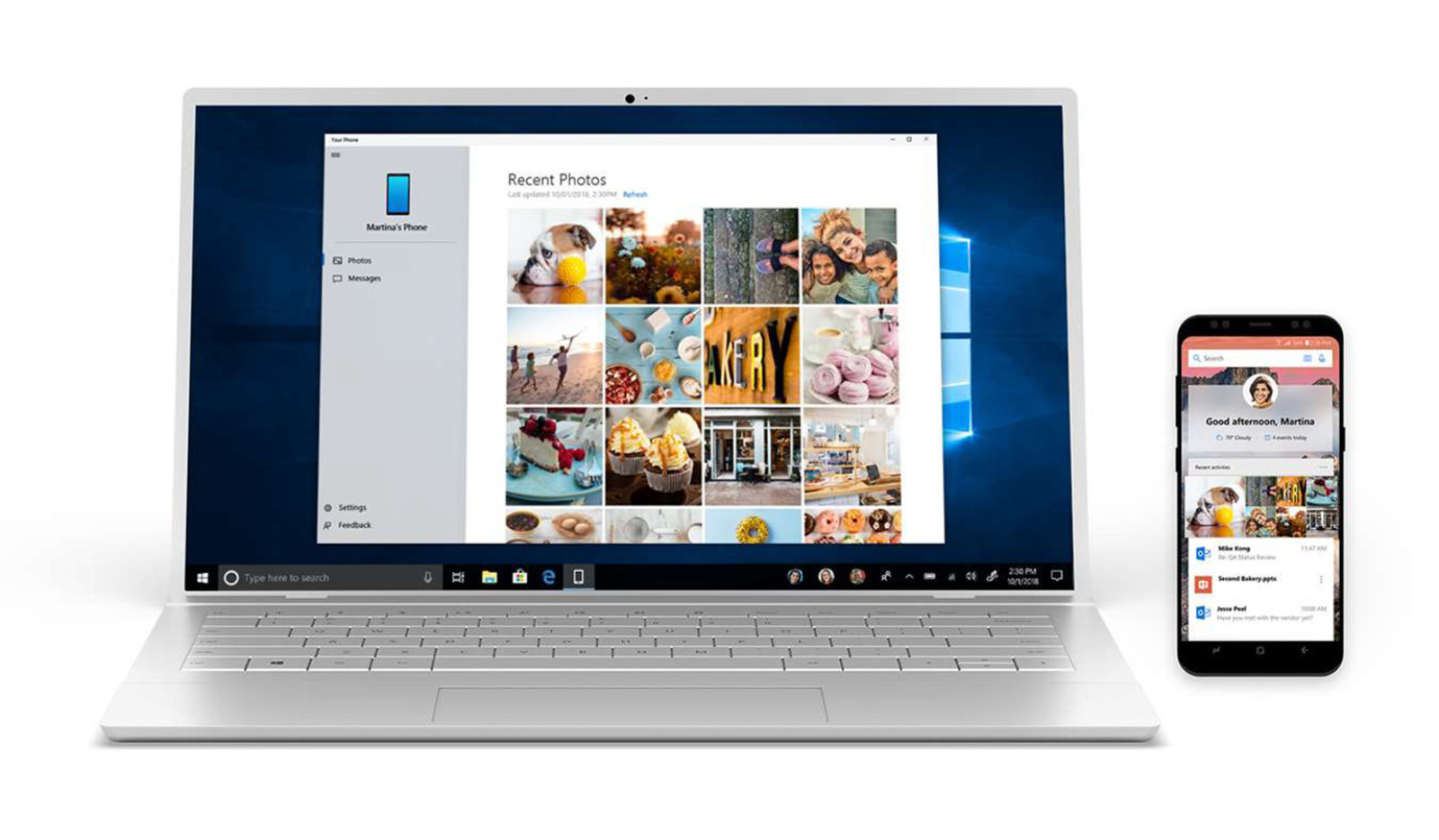 Windows 10 now shows notifications of your cell phone on PC